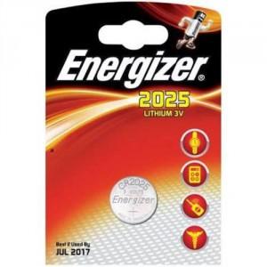 1 Pile CR2025 Lithium ENERGIZER