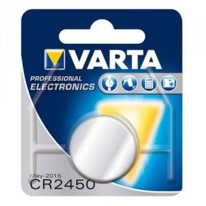 1 Pile CR2450 6450 Lithium VARTA