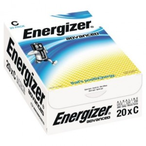 20 Piles LR14 C Advanced ENERGIZER