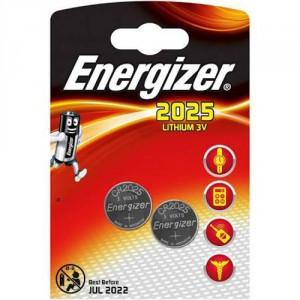 2 Piles CR2025 Lithium ENERGIZER