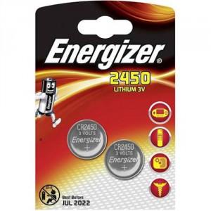 2 Piles CR2450 Lithium ENERGIZER