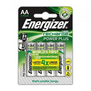 4 Piles AA 2000 mAh HR6 Power Plus ENERGIZER