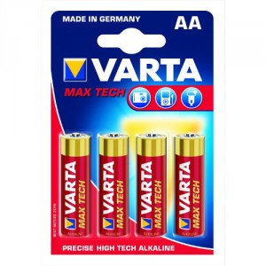 4 Piles AA 4706 VARTA Max Power