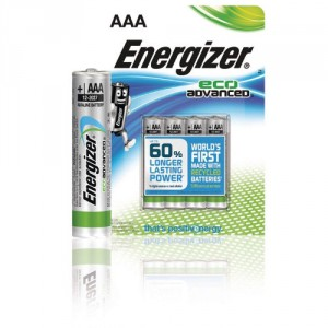 4 Piles AAA LR03 Eco Advanced ENERGIZER