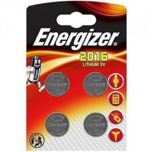 4 Piles CR2016 Lithium ENERGIZER
