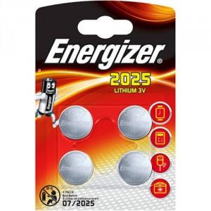 4 Piles CR2025 Lithium ENERGIZER