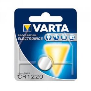 1 Pile CR1220 6220 Lithium VARTA