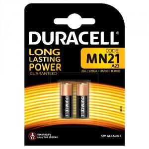 2 Piles 12V MN21 DURACELL ALKALINE