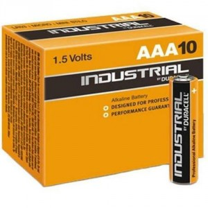 10 Piles AAA MN2400 Industrial by DURACELL