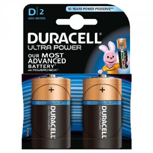 2 Piles 1,5V MX1300 D DURACELL Ultra Power